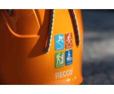 Casco GAMS Outdoor Narancs L-es méret + hordozó
