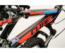 Cube Kid 240 2016 black'n'flashred'n'blue kerékpár
