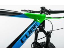 Cube Reaction GTC 29 2X 2017 carbon'n'green kerékpár