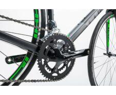 Cube Attain black´n´green 2017 kerékpár