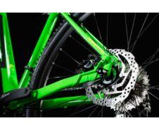 """CUBE ANALOG FLASHGREEN´N´GREY 2018 17"""" kerékpár"""