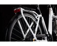 Cube TOWN HYBRID PRO 400 white´n´silver 2019 kerékpár