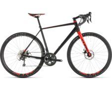 Cube NUROAD PRO Black'n'red  2019 kerékpár