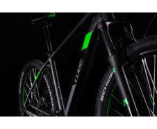 """Cube AIM RACE black´n´flashgreen 27,5"""" 2020 kerékpár"""