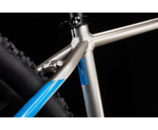 "Cube ATTENTION titanium´n´blue 27,5"" 2020 kerékpár"