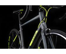 Cube ATTAIN grey´n´flashyellow 2020 kerékpár