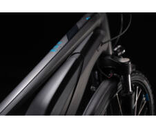 Cube TOURING HYBRID ONE 400 Trapeze black´n´blue 2020 ebike