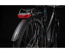 Cube TOURING HYBRID ONE 400 Easy Entry black´n´blue 2020 kerékpár