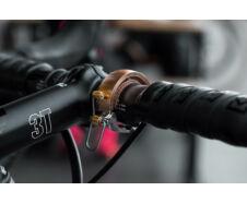 Knog Oi LUX ezüst kerékpáros csengő 22,2