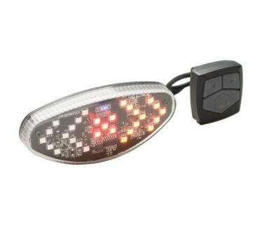 Bikefun Vezeték nélküli irányjelző USB lámpa