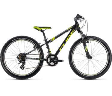 Cube Kid 240 2018 black'n'flashyellow kerékpár