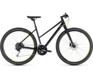 Cube Hyde black'n'yellow 2018 kerékpár
