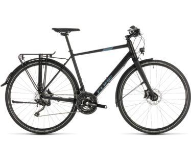 Cube TRAVEL SPORT black´n´blue 2019 kerékpár