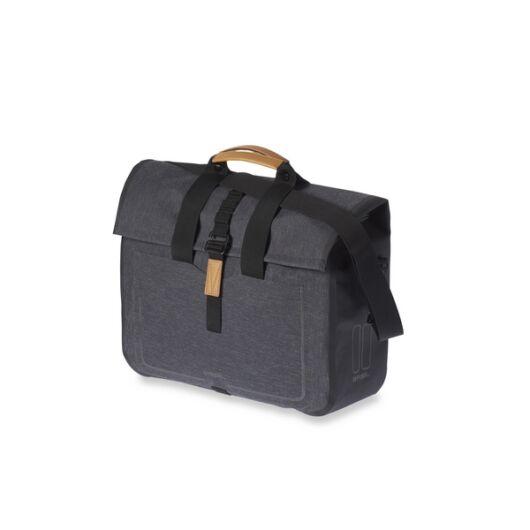 Basil oldaltáska  Urban Dry Business Bag, Hook ON, charcoal fekete
