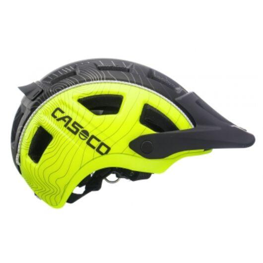 Casco MTB.E 2 Black Neon L (58-62 cm) kerékpáros fejvédő