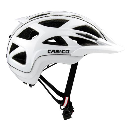 Casco Activ 2 White Shiny M (56-58cm) kerékpáros fejvédő