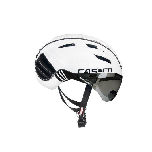 CASCO SPEEDster Plus White Black M 54-58 kerékpáros fejvédő