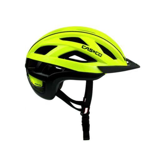 Casco Cuda 2 Neon Yellow Shiny  M 54-58 cm kerékpáros fejvédő