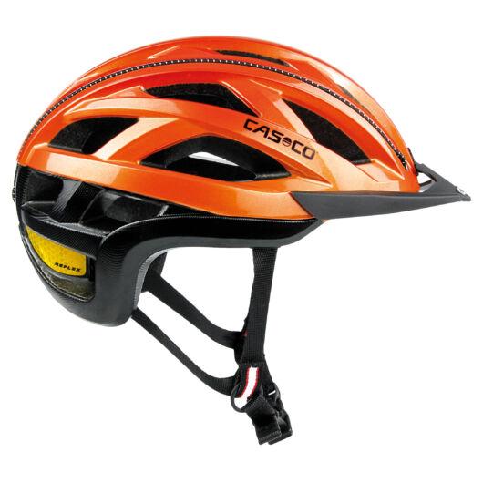 Casco Cuda 2 Orange Shiny L 58-62 cm kerékpáros fejvédő