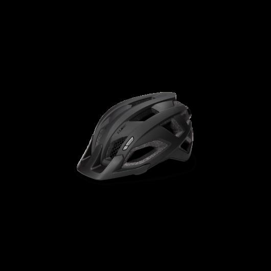 CUBE PATHOS fekete kerékpáros sisak M (52-57cm)