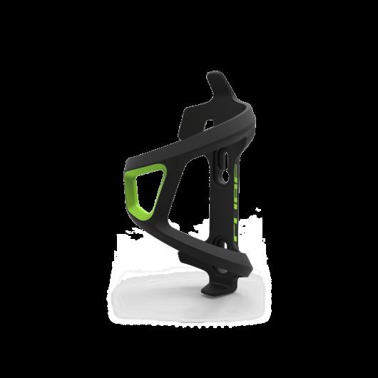 Cube HPP Fekete/Zöld oldalra nyíló kulacstartó