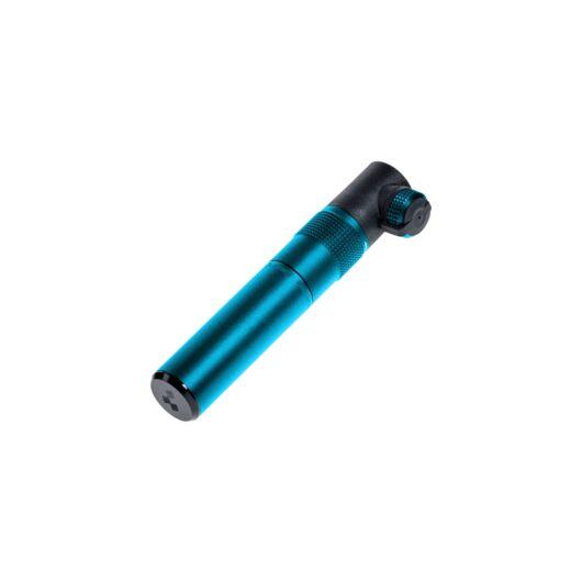 Cube Micro kék/fekete kerékpáros pumpa