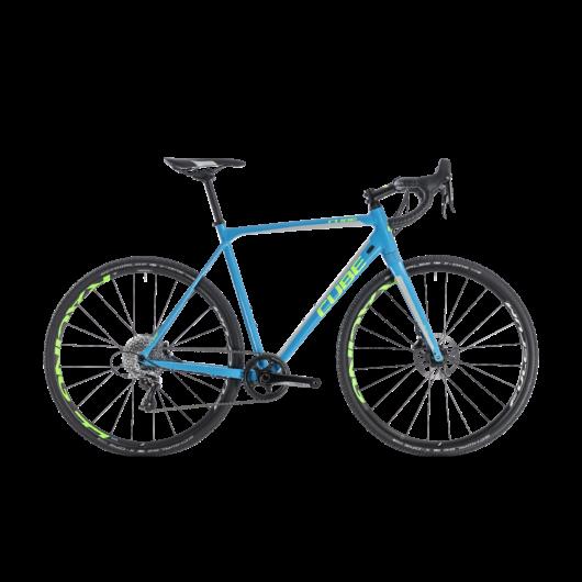 188300  CUBE CROSS RACE SL BLUE´N´GREEN 2018 50 CM 2018 kerékpár