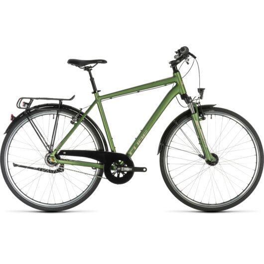 Cube TOWN PRO green´n´silver 2019 kerékpár