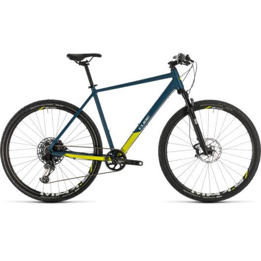 Cube CROSS SL blue´n´lime 2020 kerékpár
