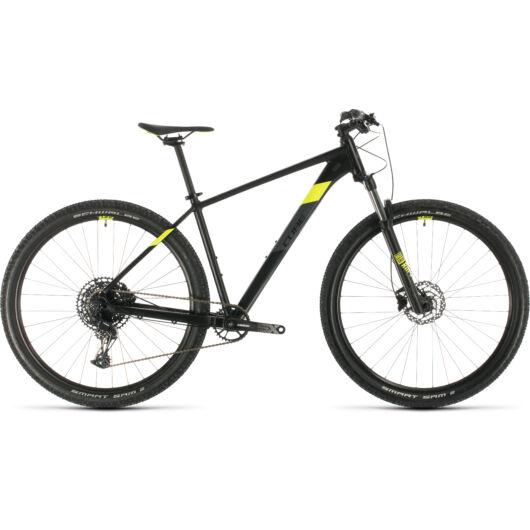 """Cube ANALOG black´n´flashyellow 27,5"""" 2020 kerékpár"""