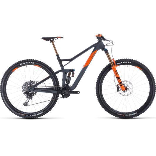 "Cube STEREO 150 C:68 TM grey´n´orange 29"" 2020 kerékpár"