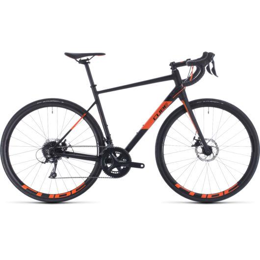 Cube ATTAIN PRO black´n´orange 2020 kerékpár