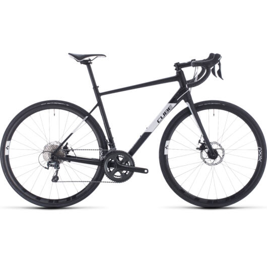 Cube ATTAIN RACE black´n´white 2020 kerékpár