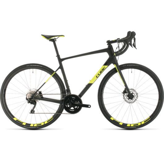 Cube ATTAIN GTC RACE carbon´n´flashyellow 2020 kerékpár