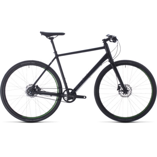 Cube HYDE RACE black´n´green 2020 kerékpár
