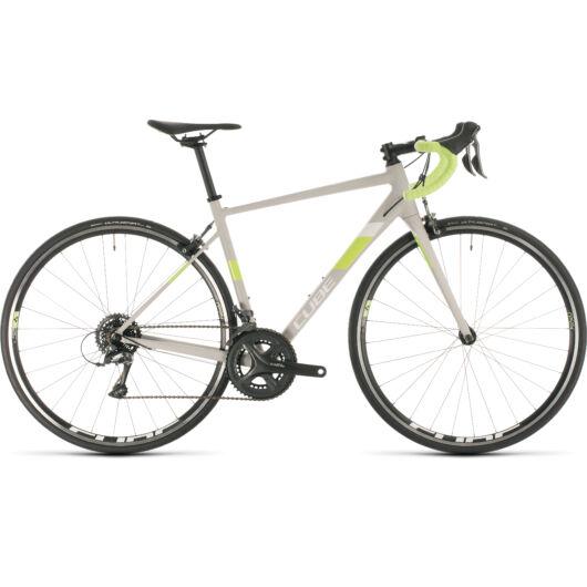 Cube AXIAL WS lightgrey´n´green 2020 kerékpár