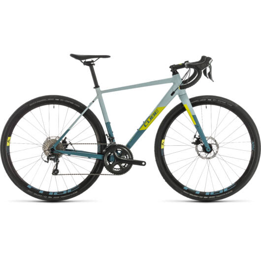 Cube NUROAD WS greyblue´n´lime 2020 kerékpár