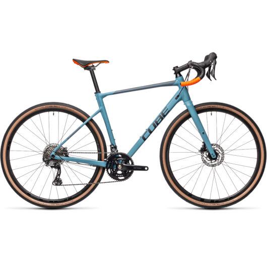 Cube NUROAD RACE greyblue'n´orange 2021 kerékpár