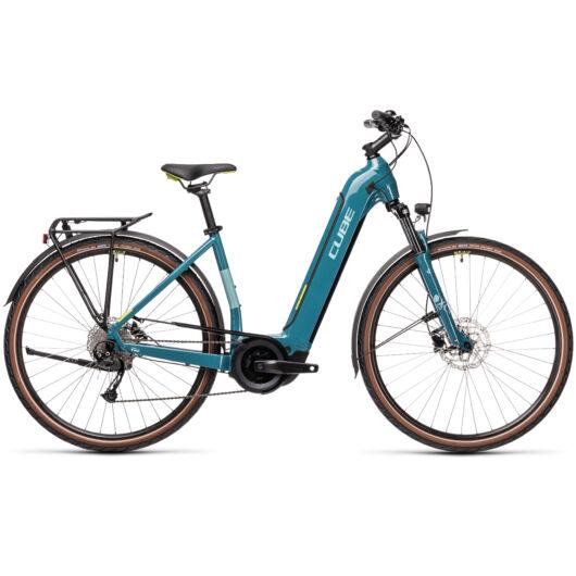 Cube TOURING Hybrid ONE 625 blue´n´green 2021 kerékpár