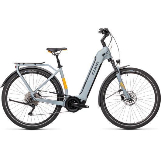 Cube TOURING Hybrid PRO 625 grey´n´orange easy entry 2021 kerékpár