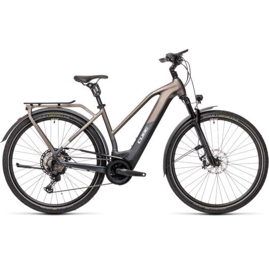 Cube KATHMANDU Hybrid SLT 625 teak'n'iridium 50 Trapéz elektromos kerékpár