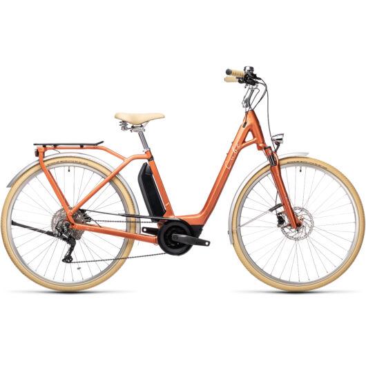 """Cube ELLA  Ride Hybrid  RED´N´GREY 28"""" EASY ENTRY 2021 kerékpár"""