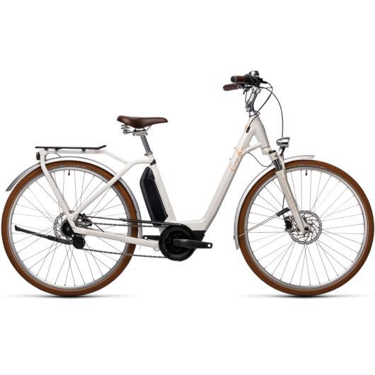 Cube ELLA Hybrid creme´n´orange 2021 kerékpár