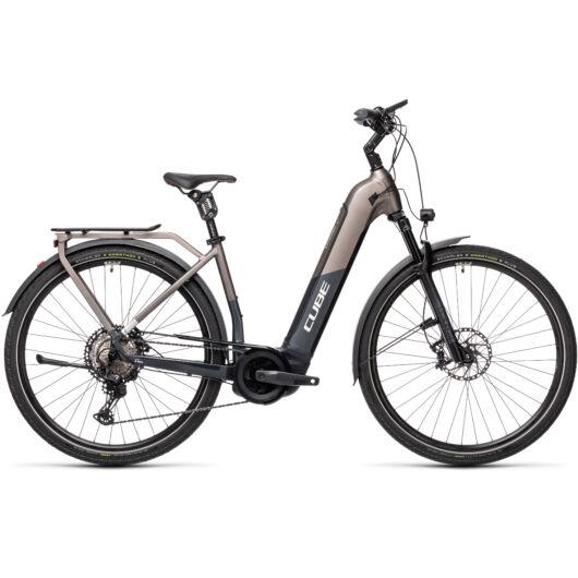 Cube KATHMANDU Hybrid SLT 625 teak'n'iridium; 54 easy in; 2021 elektromos kerékpár