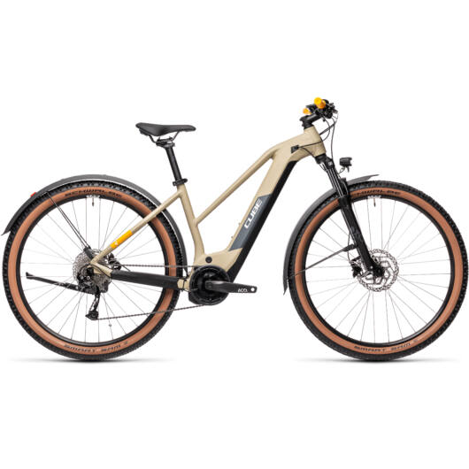 Cube Reaction HYBRID Performance 625 ALLROAD desert´n´orange Trapeze 2021 ebike