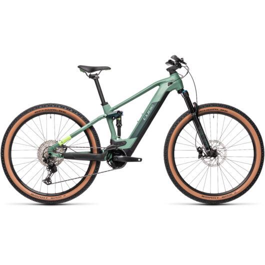 Cube STEREO Hybrid 120 RACE 625 green´n´sharpgreen 2021 kerékpár