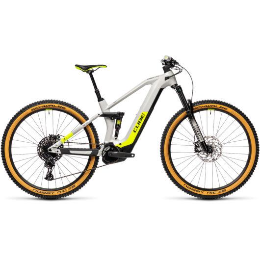 Cube STEREO Hybrid HPC 140 RACE 625 grey´n´yellow 2021 kerékpár