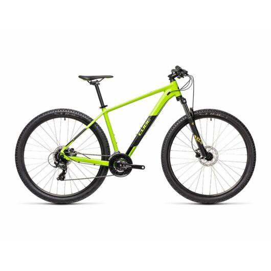 """Cube AIM PRO green'n'black 29"""" 2021 kerékpár"""