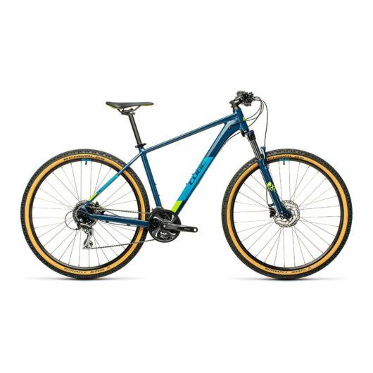 "Cube AIM RACE blueberry´n´lime 29"" 2021 kerékpár"