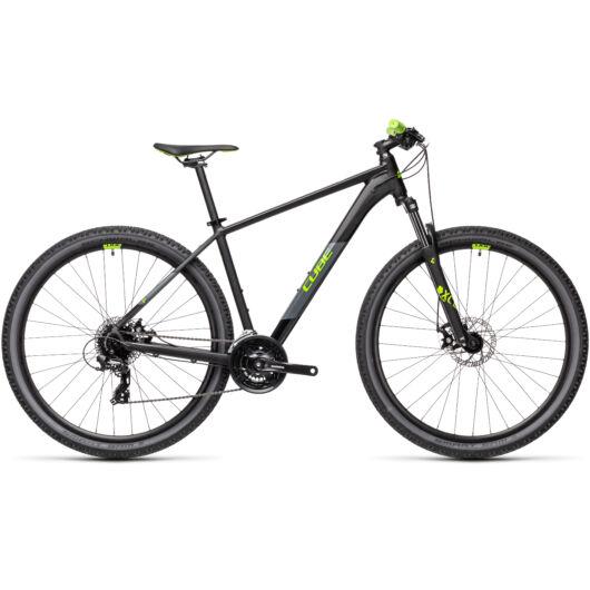Cube AIM black´n´green 2021 kerékpár